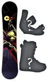 150cm NFA Peak W-Camber Snowboard, Build a Package with Boots and Bindings.