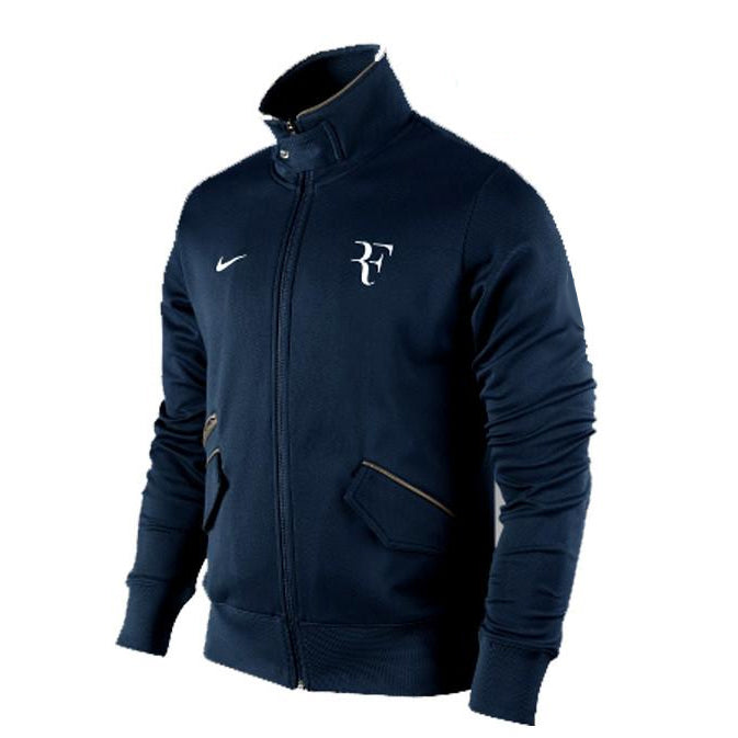 Nike Roger Federer Tennis Track warm up Jacket U.S Open 2010 XXL.