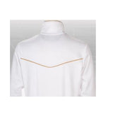 Nike Roger Federer Tennis Victory Track Warm up Jacket Wimbledon White Gold XL XXL