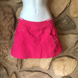 NIKE FIT DRY WOMENS SHARAPOVA TENNIS SKIRT PINK SMALL (4-6)