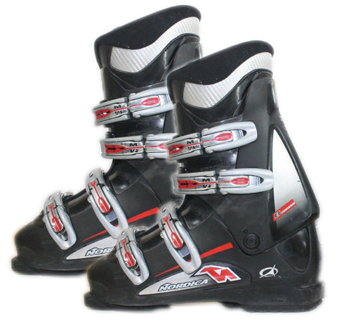 Nordica B Multi Macro NXT Ski Boots Black Easy Move USED M 26 Men 8 Women 9 (300mm)