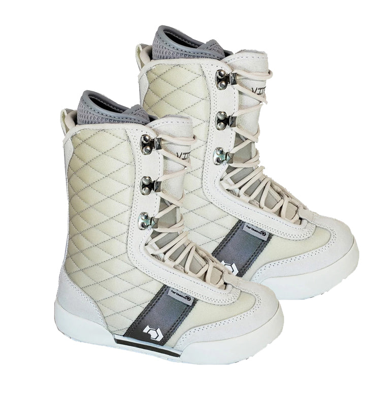 Northwave Vintage Snowboard Boots Pearl White, Women 8.5-9