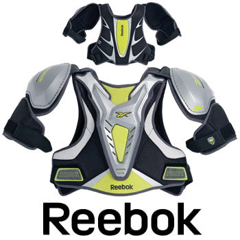 Reebok 3K LAX Lacrosse Shoulder Pads Chest Back Proctector pad NEW XS S M L