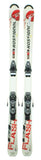 132cm Rossignol Flash Irs Skis with Axium 100 Pro Bindings Used experience rtl Package