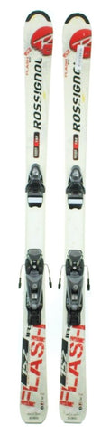 142cm Rossignol Flash Irs Skis with Axium 100 Pro Bindings Used experience rtl Package
