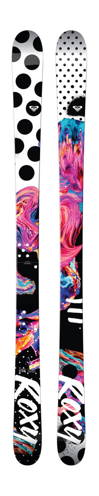 174cm ROXY ILY DARA HOWELL WOMENS ROCKER SKIS 2018 116/86/116MM LAST 1