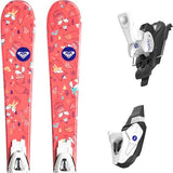 80cm Roxy Bonbon C5 Alpine Skis with C5 Salomon Bindings Kaya Mounted Package