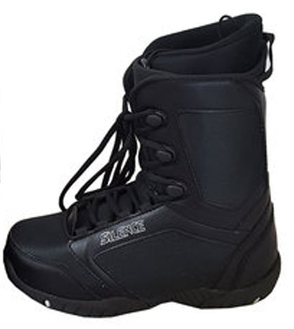 Silence Frontside Snowboard Boots Sizes Mens 9 Black