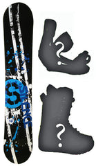 110cm Silence Target Camber Snowboard, Build a Package with Boots and Bindings