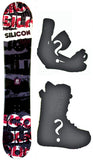 140cm Silicon Accessory Crack Rocker Snowboard, Build a Package with Boots and Bindings.