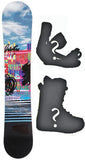 147cm Sims Pristine Rocker Snowboard, Build a Package with Boots and Bindings