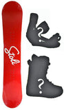156cm Stoli Vodka Camber Snowboard, Build a Package with Boots and Bindings.