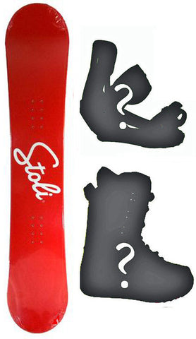 155cm Stoli Vodka LTD Snowboard, Build a Package with Boots and Bindings.