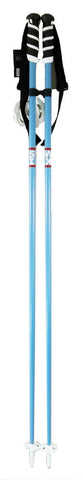 Swix Word Freeride Aluminum Ski Skiing Pole with Tab Grip, Lt. Blue 125-135cm