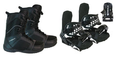 Symbolic UL Snowboard Boots & Custom Bindings Package Deal 7,8,9,10,11,12,13,14,15