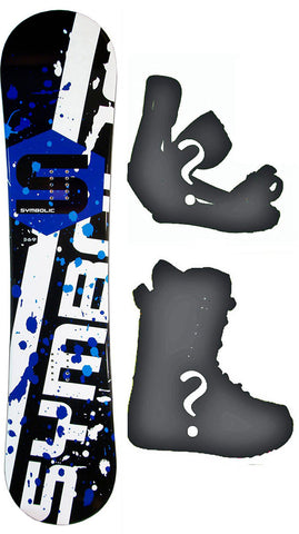 Symbolic 369 Rocker or W-Camber Profile Snowboard 2020 Kids Mens Womens