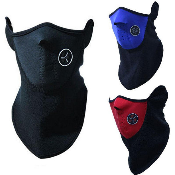 Symbolic Xsport Neck & Ear Warmer w/ Face Gaiter Mask Snowboard Ski