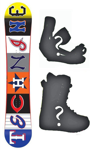 118cm Technine Young Gun All Star Snowboard, or Build a Package with Boots and Bindings