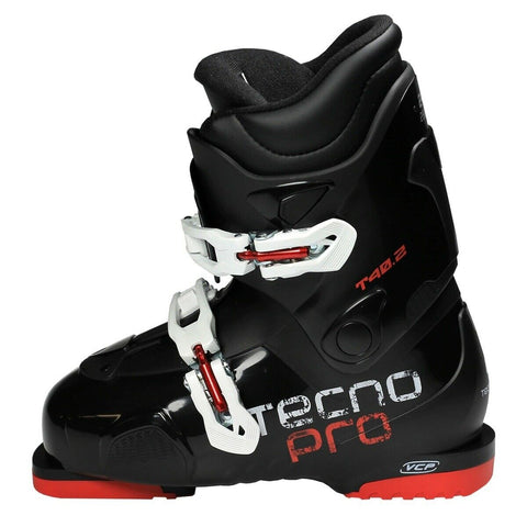 TecnoPro T40.2 VCP Alpine Ski Boots Ski Boots Black Red New  23.5 24 24.5 25 25.5