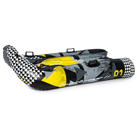 "Symbolic SnowGlider Thunder Jet - Sled Snow Tube Ride / bobsled Large 57"" - 33"" 2 Person"