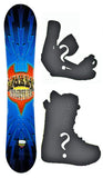 140cm World Ind. Lighting Rocker Snowboard, Build a Package with Boots and Bindings.