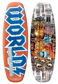 135cm World Industries Voodoo Wakeboard + Fins Mens Womens Kids Youth