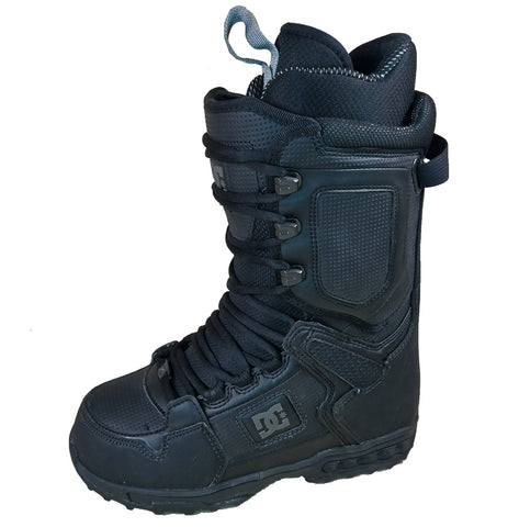 DC Balance Lace Snowboard Boots Mens Size 6 equals Womens 7.5 Black.