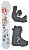 145cm Zetta Kiss Gene Simmons *Blem* Snowboard, Build a Package with Boots and Bindings.