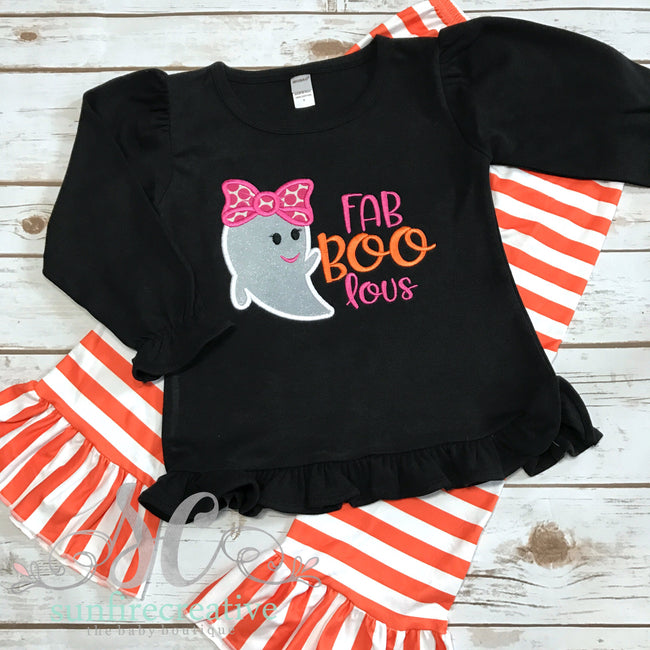Fab-BOO-lous Outfit - Girl Halloween Outfit