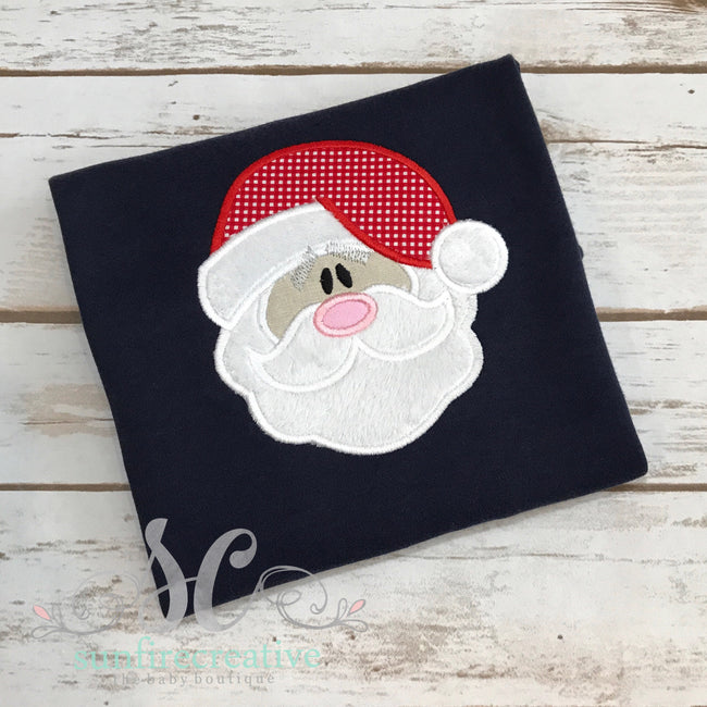 Boy Christmas Shirt - Santa Shirt - Sunfire Creative Baby Boutique