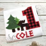 Lumberjack Birthday Boy Shirt - Sunfire Creative Baby Boutique