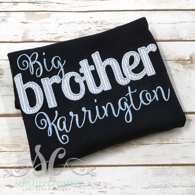 Big Brother Shirt - Sibling Shirt - Pregnancy Announcement - Sunfire Creative Baby Boutique