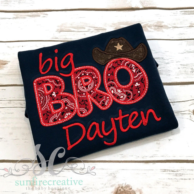 Big Brother Shirt - Country Boy Shirt - Pregnancy Announcement - Sunfire Creative Baby Boutique