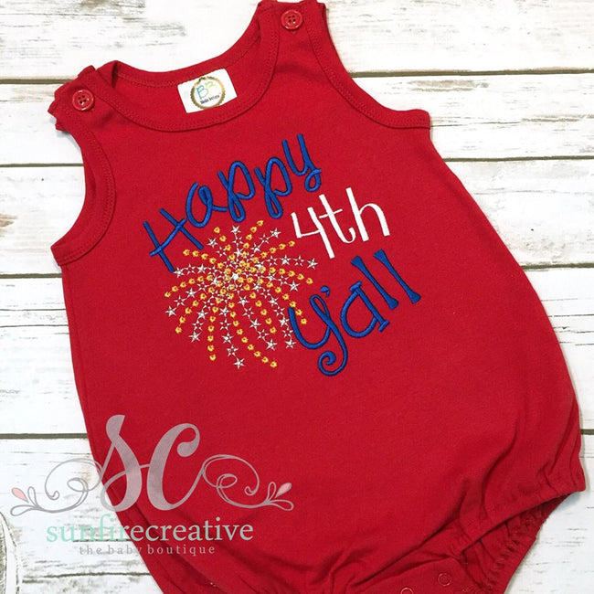 Baby Fourth of July Outfit - Sunfire Creative Baby Boutique