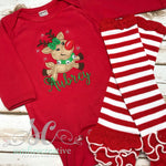 Girls Reindeer Outfit - Christmas Outfit