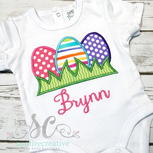 Easter Egg Shirt - Girls Easter Outfit