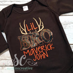 Lil Bro Camo Onesie - Sibling Outfit - Baby Shower Gift