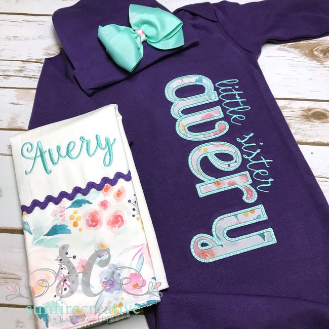 Baby Girl Coming Home Outfit - Sunfire Creative Baby Boutique
