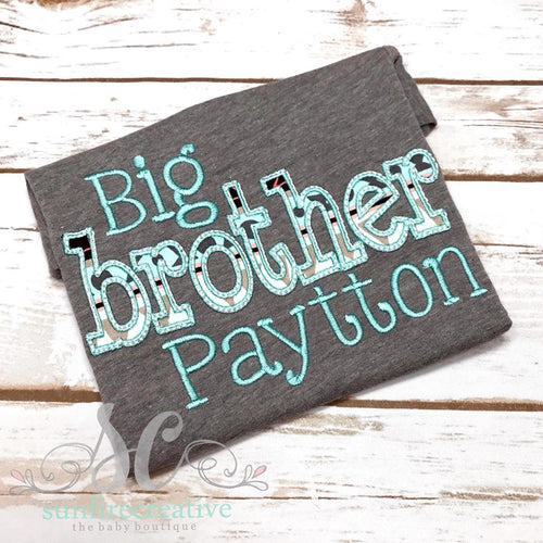 Big Brother Shirt - Sibling Outfit