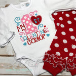 First Valentine Outfit - Girls First Valentine Set