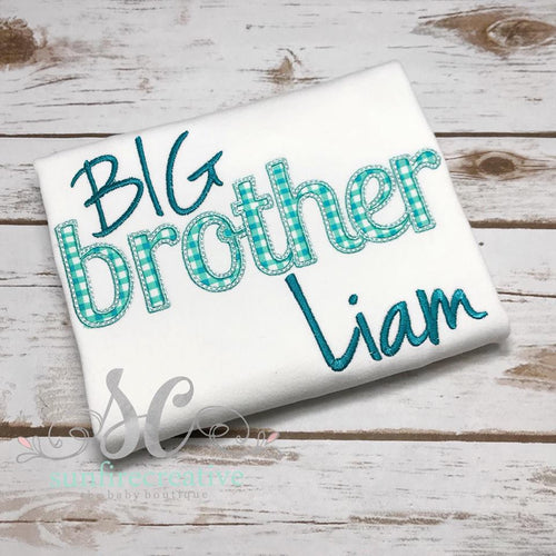 Big Brother Shirt - Sibling Shirt