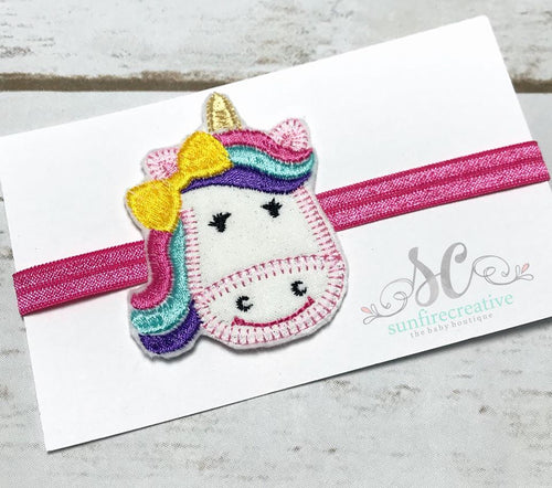 Unicorn Headband - Girls Headband