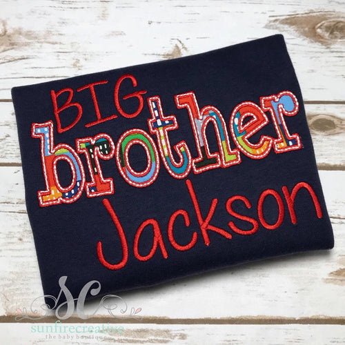 Big Brother Shirt - New Baby Announcement