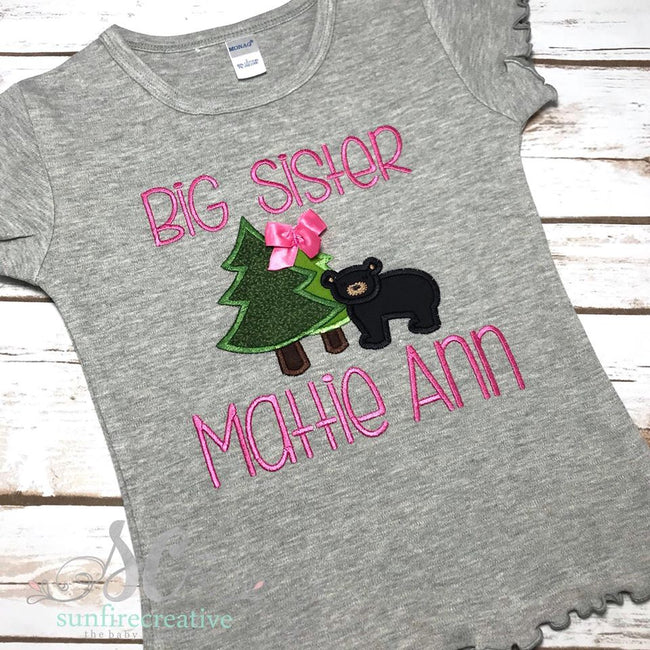 Big Sister Shirt - Birth Announcement Shirt - Sunfire Creative Baby Boutique