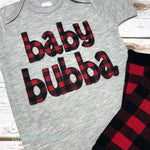 Baby Bubba Onesie - Sunfire Creative Baby Boutique