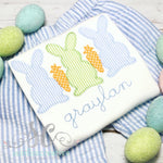 Easter Outfit for Boys - Rabbit trio Shirt - Sunfire Creative Baby Boutique