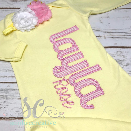 Coming Home Outfit For Girls - Girl Baby Shower Gift