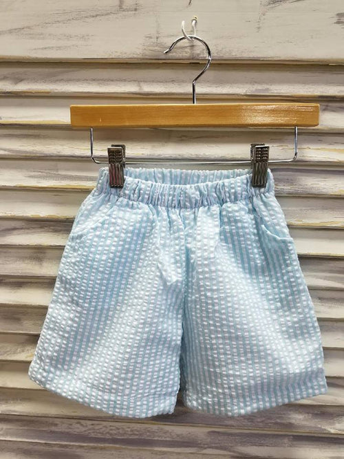 Boy's Seersucker Shorts