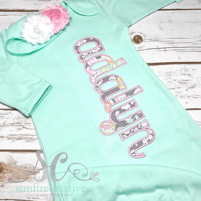 Girl Coming Home Outfit - Baby Shower Gift