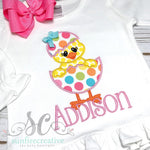 Girl Easter Shirt - Easter Chick Shirt